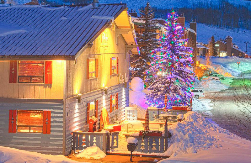 Christmas time at The Nordic Inn.