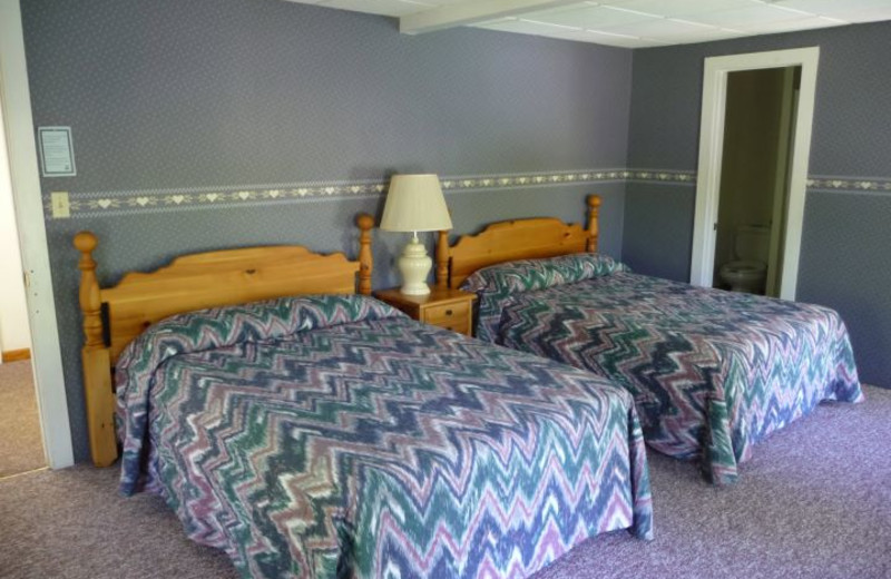 Guest Room at Glen Falls House