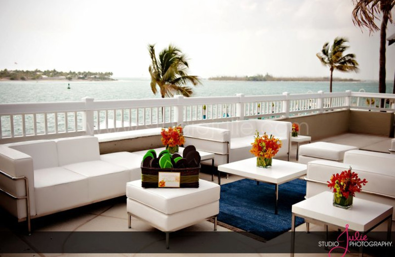 Lounge area at The Westin Key West Resort.