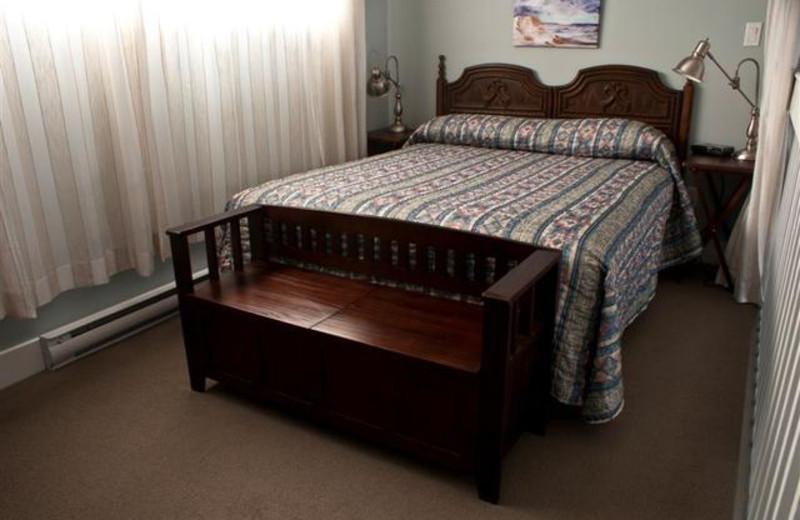 Guest bedroom at The Shorewater Resort.