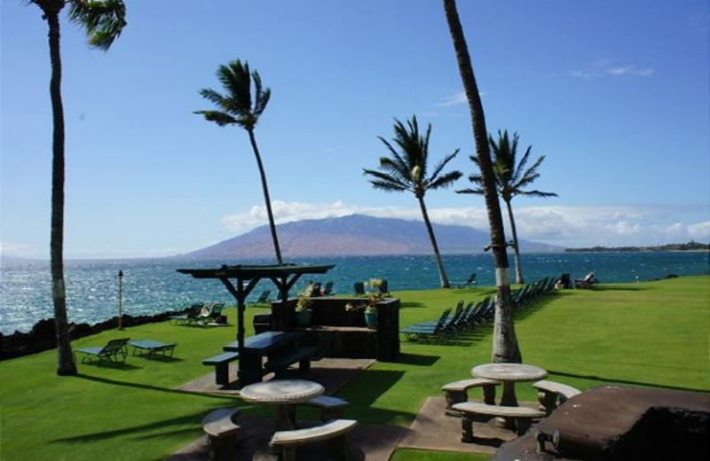 Picnic area at Maui Vacation Rentals.
