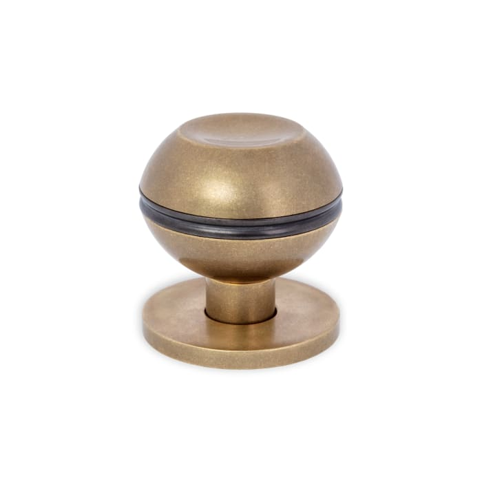 Beacon Hill Knob Antique Polished Brass and Textured Oil Rubbed Bronze
