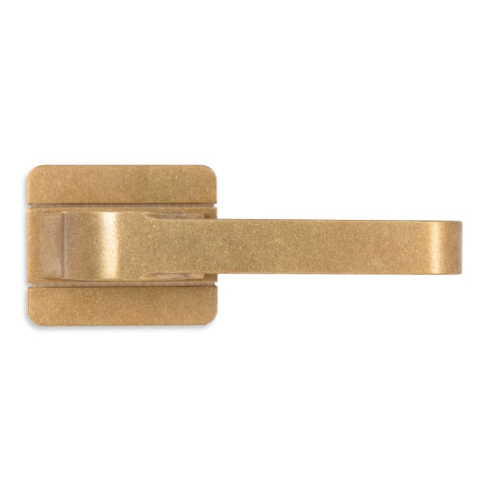 Nob Hill Lever Antique Polished Brass