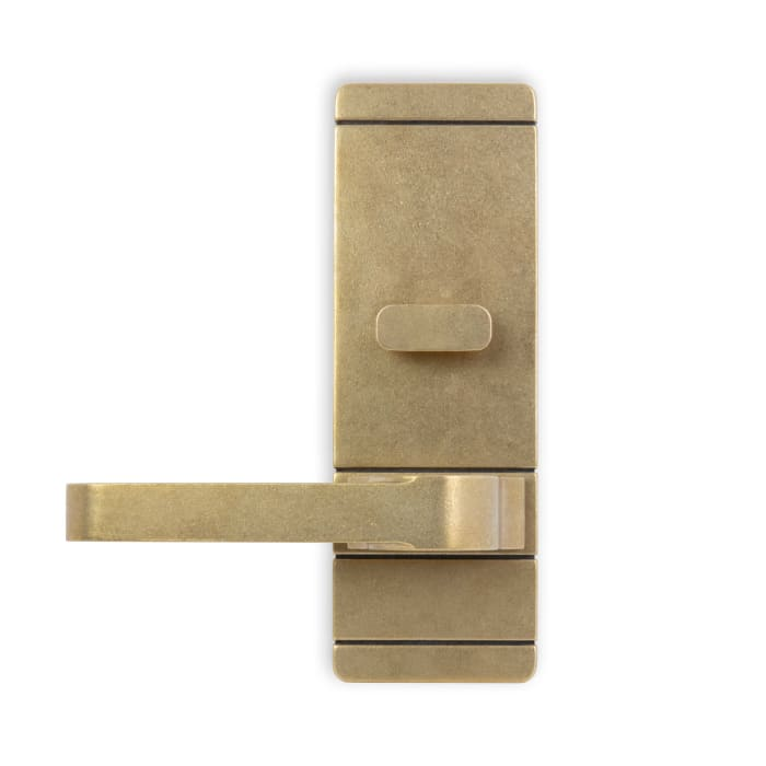 Pacific Heights Lever Antique Polished Brass