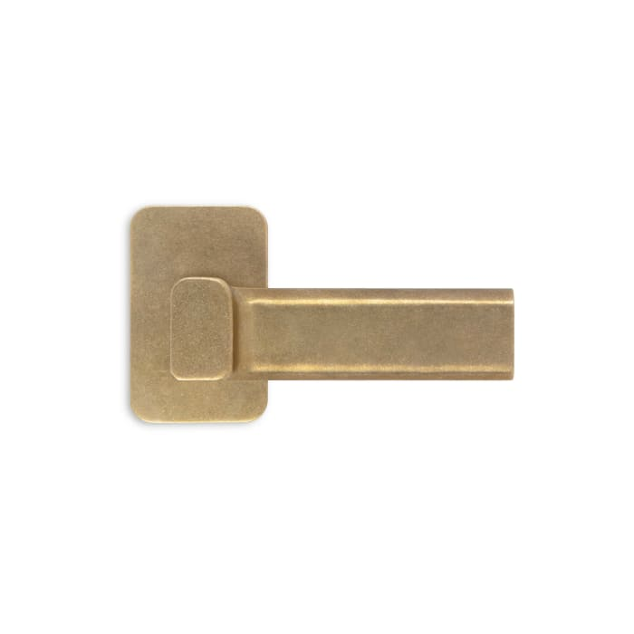 Lake Shore Lever Antique Polished Brass