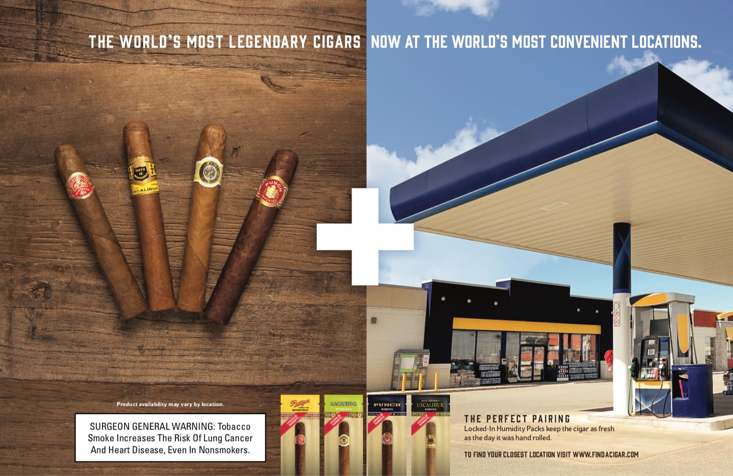 Cigar advertising campaign