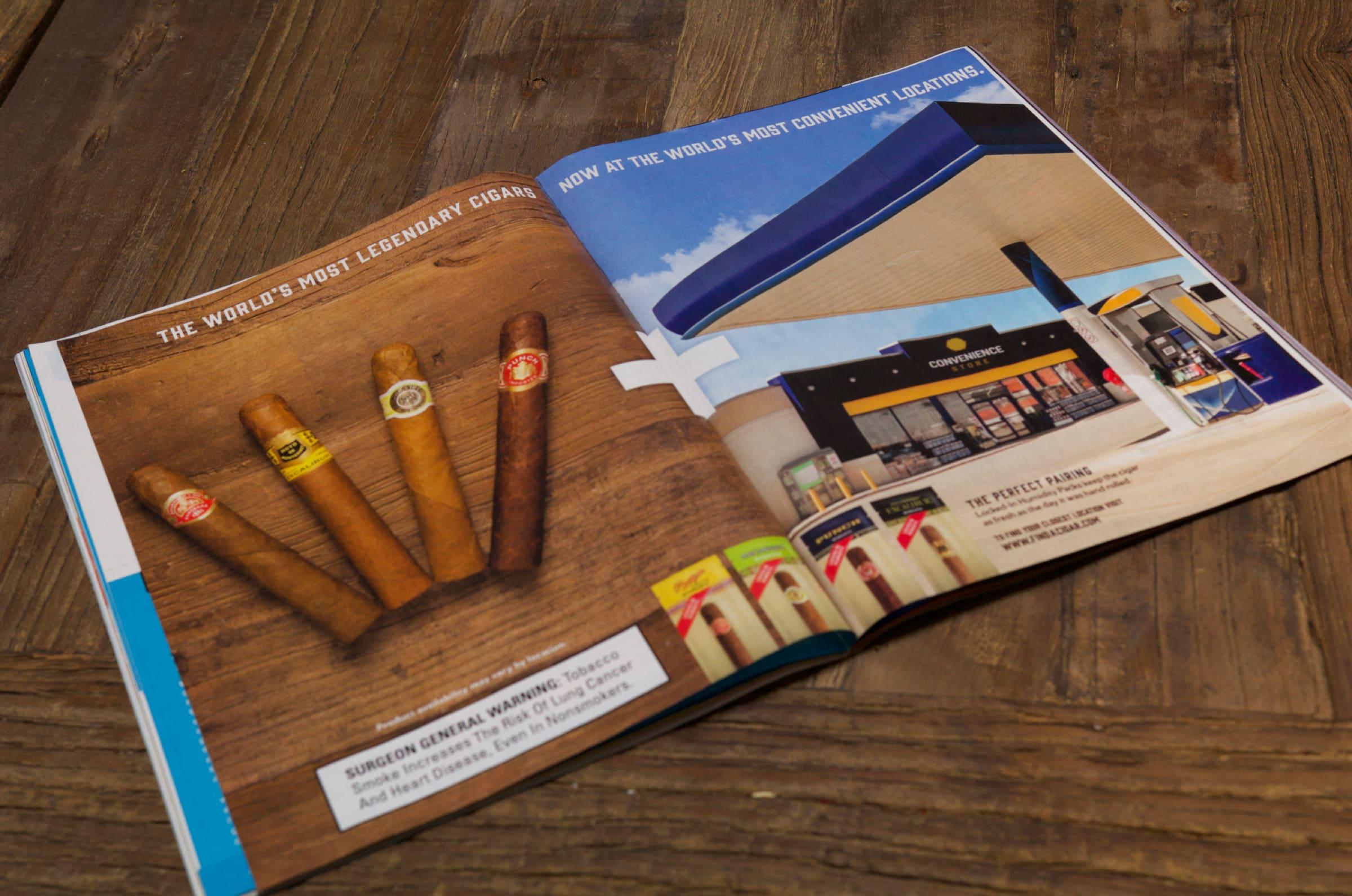 Cigar print ad