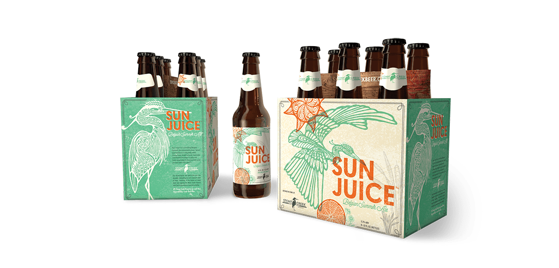 Sun Juice Packaging