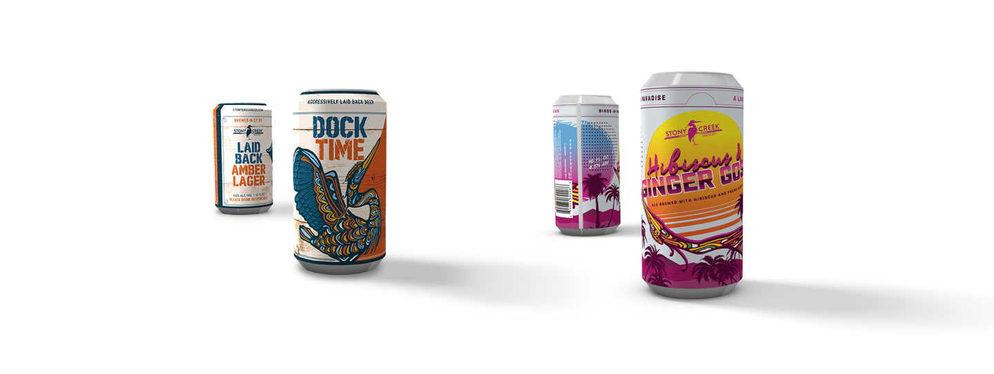 Dock Time and Birds In Paradise Packaging