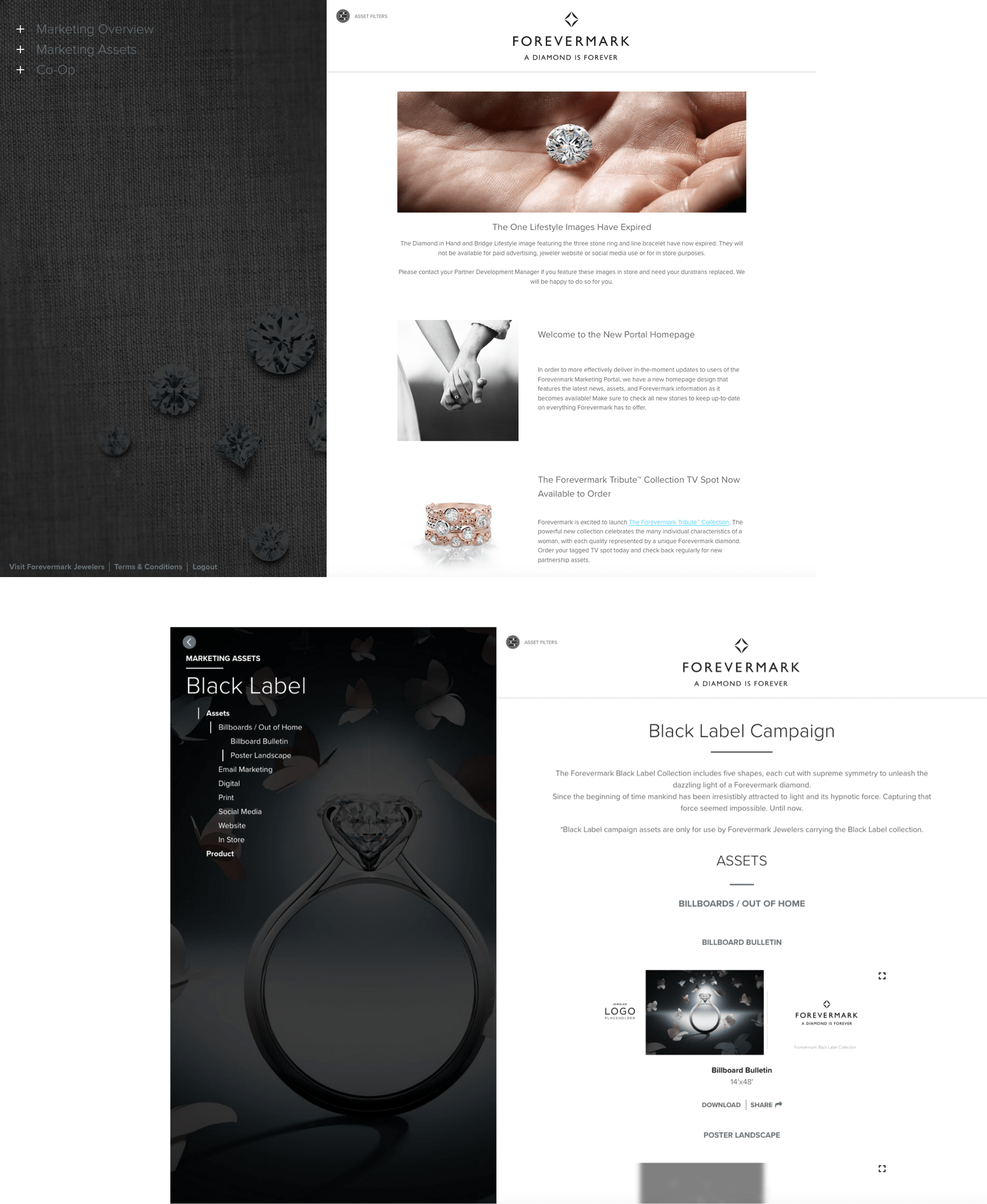 Forevermark Marketing Website