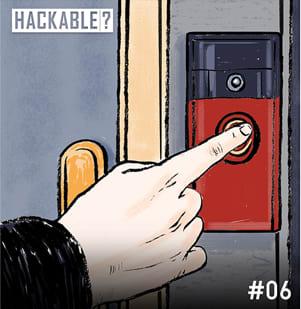 Video doorbell illustration
