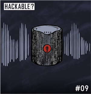 Smart speaker hacking illustration