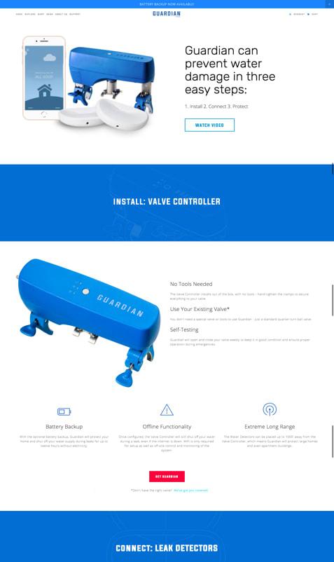 Guardian Website Redesign