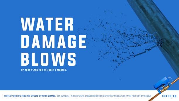 Water Damage Sucks Concept