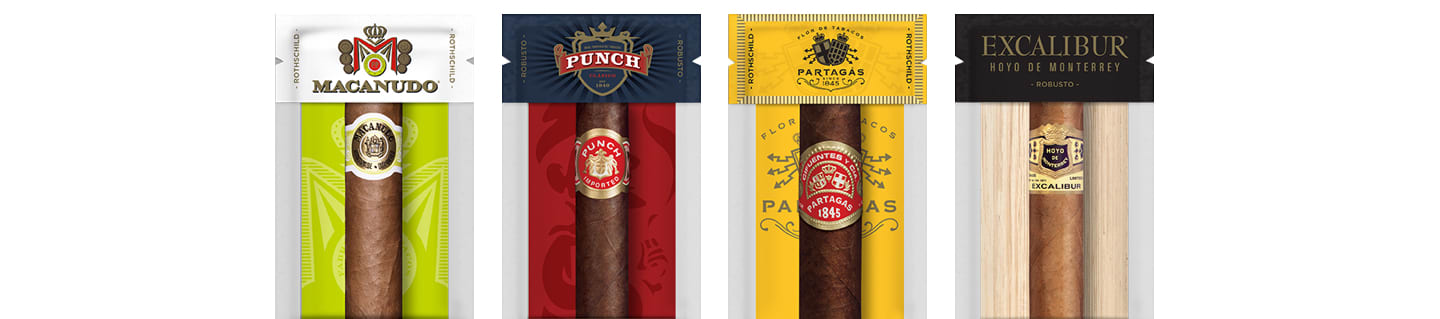 Premium cigar humidity packs