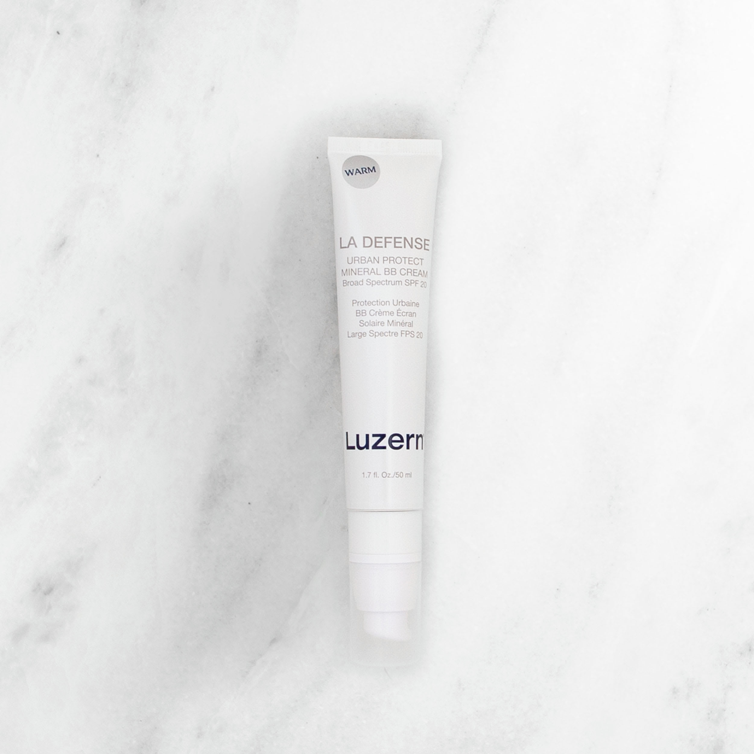 Luzern's LaDefense Urban Protect BB Cream Warm