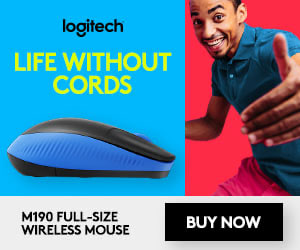 Life Without Cords Ad Mouse
