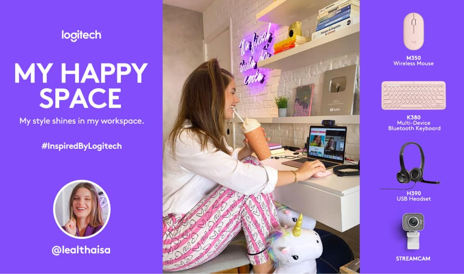My Happy Space influencers master creative