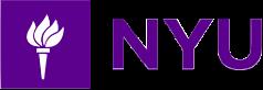 Logo: NYU