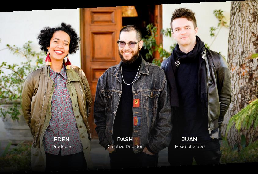 Eden, Rash and Juan
