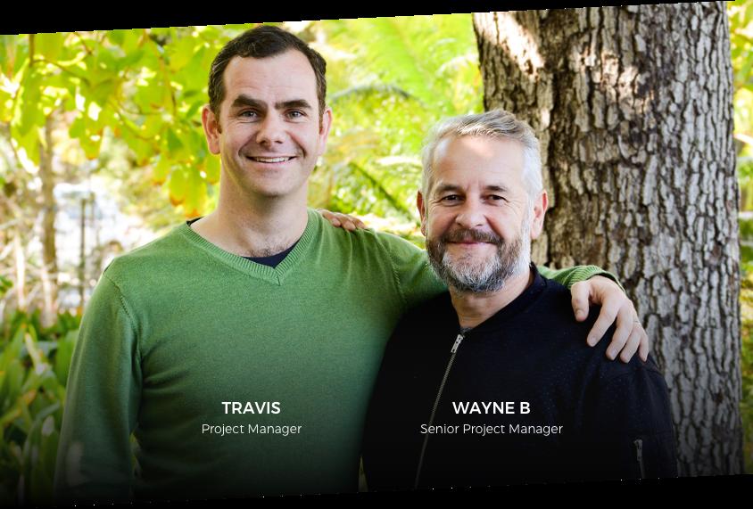 Travis and Wayne