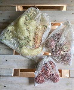 Hálós bevásárló zsák 3 méretben - Rethy Fashion