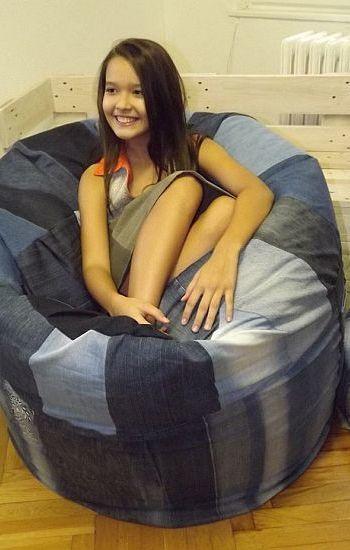 Babzsák fotel - Rethy Fashion