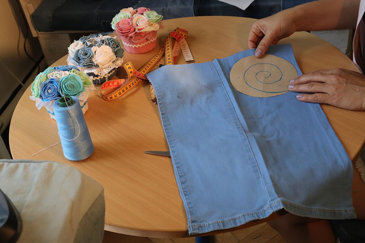 Farmer rózsa készítés   Rethy-Fashion