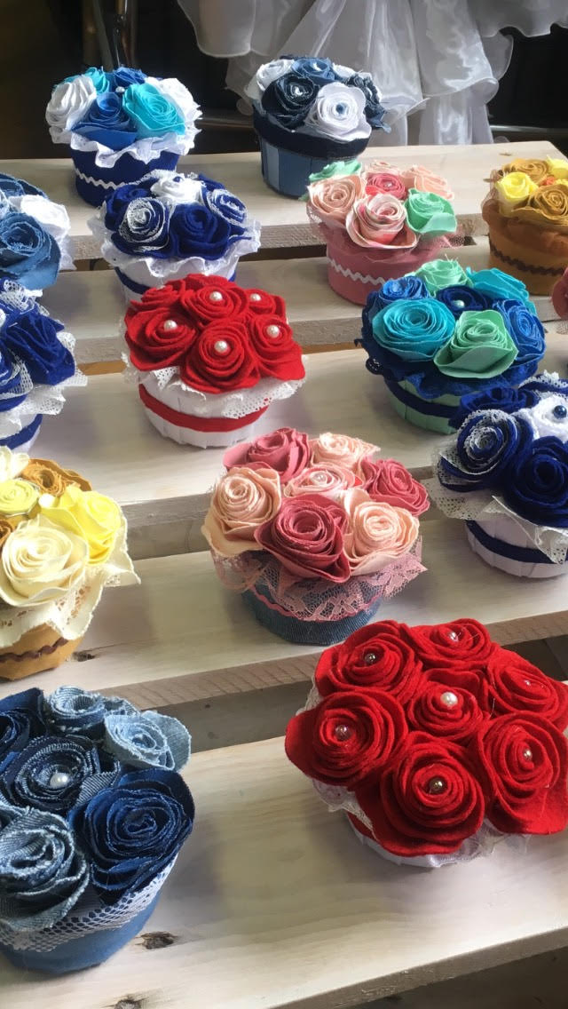 Farmer rózsa készítés | Rethy-Fashion