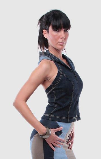 Kapucnis mellény - Rethy Fashion