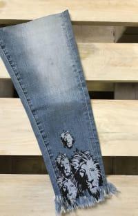 Oroszlános farmernadrág szár | Rethy Fashion