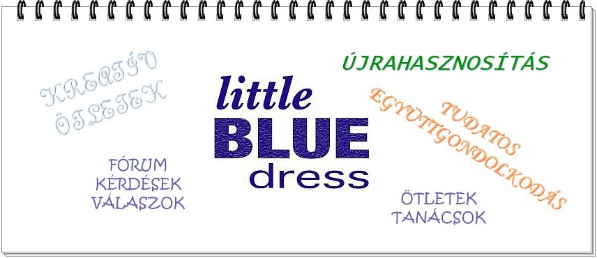 Little Blue Dress | Együttműködéseink - Rethy Fashion
