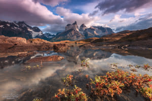 Cuernos del Paine mountains - Torres del Paine - Travel Photography / Fotografia de Viagem - © Adriano Neves - acseven