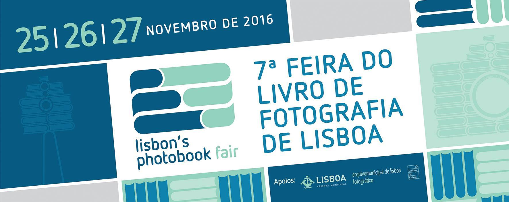 Promotional Banner for the 7th Lisbon Photobook Fair 2016