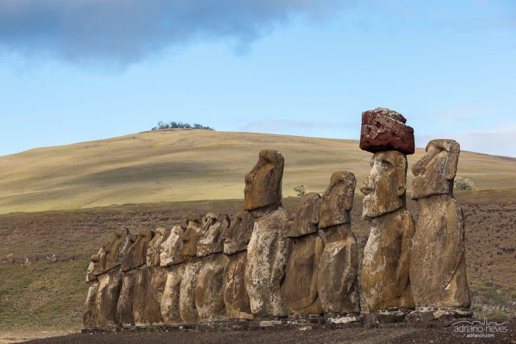 Ahu Tongariki - Chile, Rapa Nui