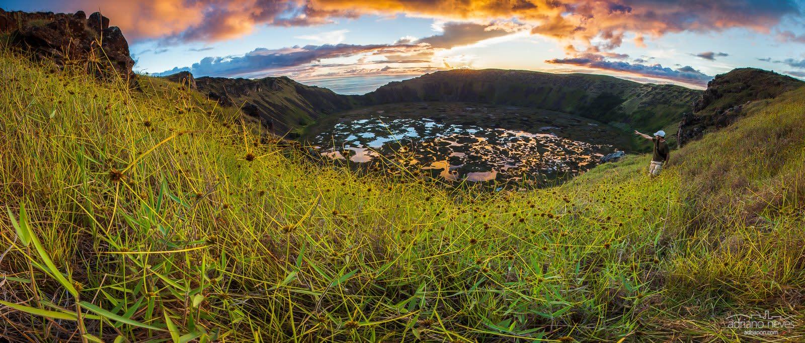 Ranu Kao Volcano - Chile, Rapa Nui