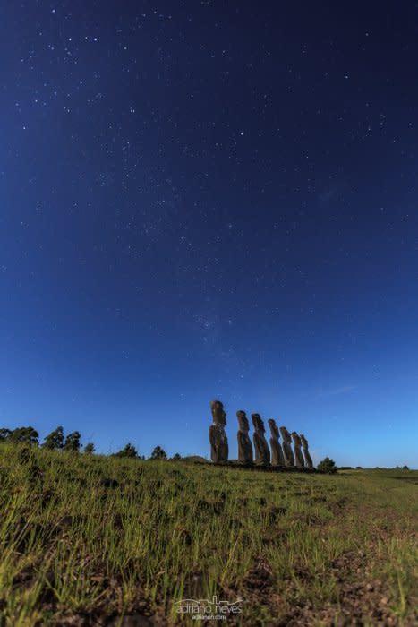 Ahu a Kivi II - Chile, Rapa Nui