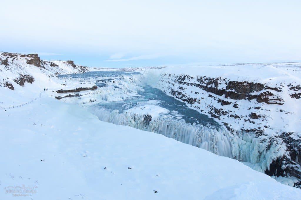 Gulfoss, the Golden Falls - Iceland