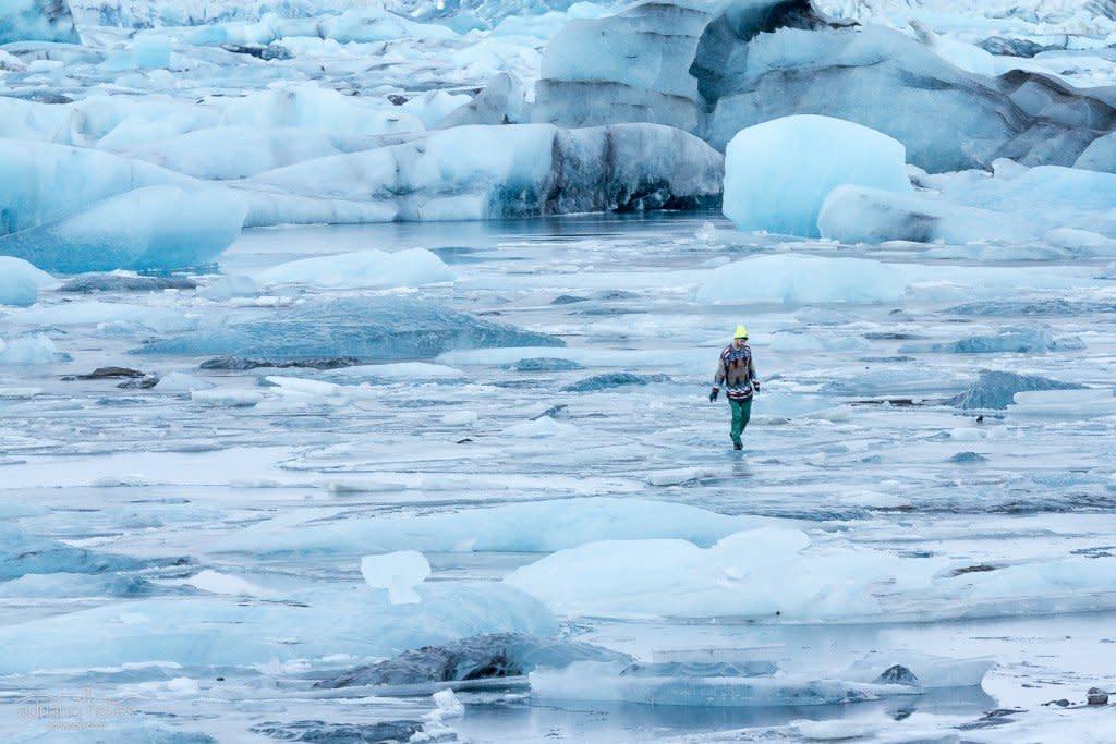 Walking on Thin Ice II - Iceland, Jökulsárlón
