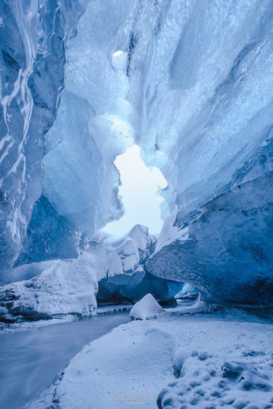Vatnajökull Glacier Ice Cave III - Iceland