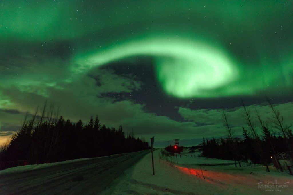 Northern Lights Beacon - Iceland