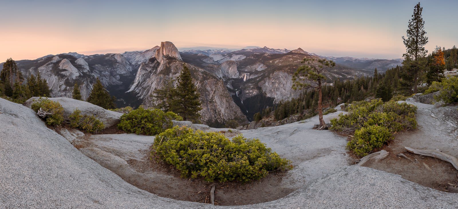 'Glacier Point' no Yosemite - EUA, Califórnia