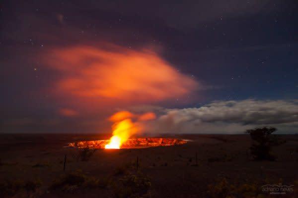 Halema'Uma'U Crater III - USA, Hawai'i