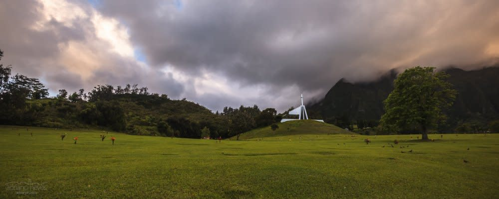Valley of The Temples - USA, O'Ahu