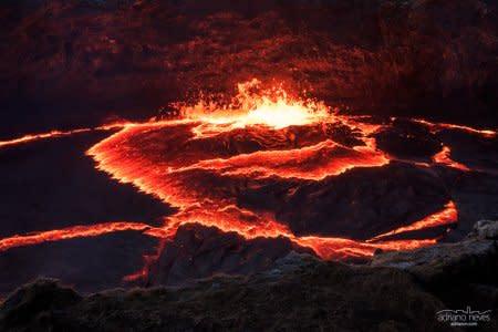 Fiery Red Erta Ale - Ethiopia, Afar