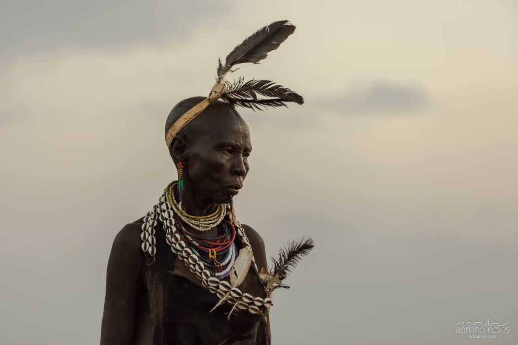 Karo Elder - Ethiopia, Omo Valley