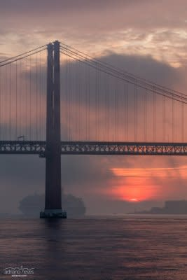 Arriving at Dawn - Portugal, Lisbon