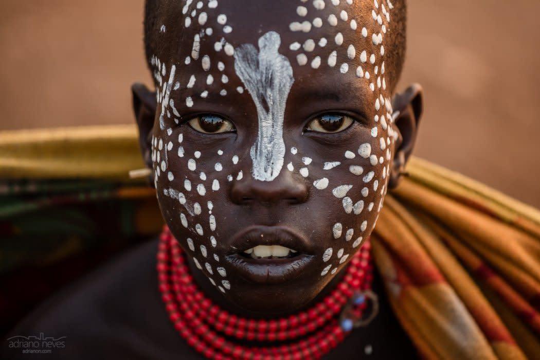 Karo Youngster - Ethiopia, Omo Valley