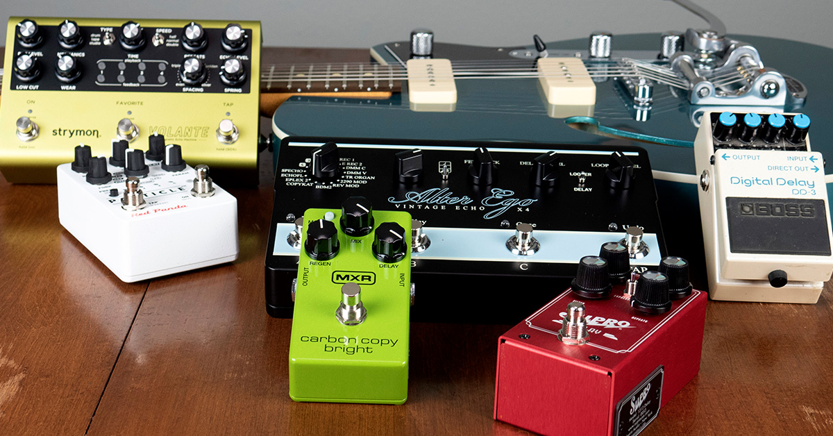 Buying Guide: Delay Pedals