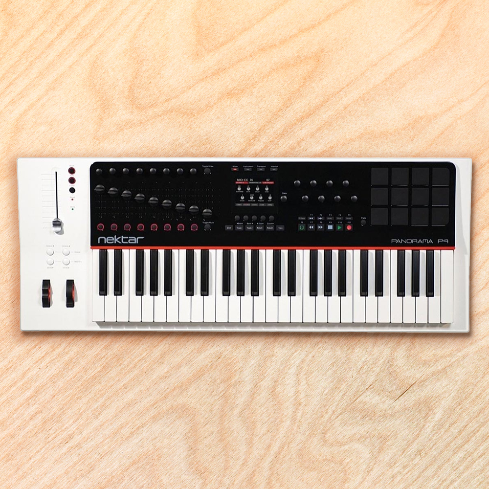 Nektar Panorama P4 49‑Key USB Midi Controller Keyboard